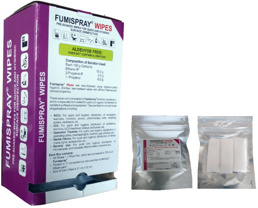 FUMISPRAY WIPES